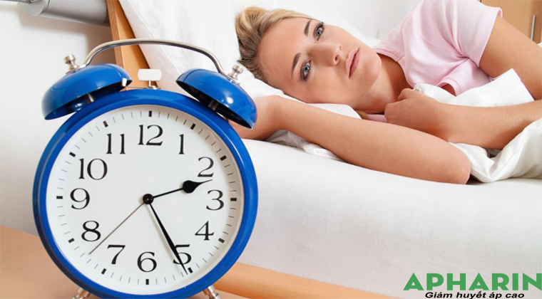 Cao huyết áp không ngủ được