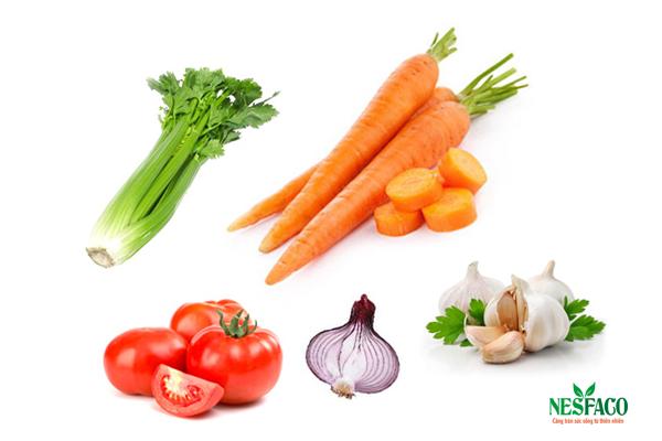 Bài thuốc kết hợp 5 loại rau củ điều trị huyết áp cao