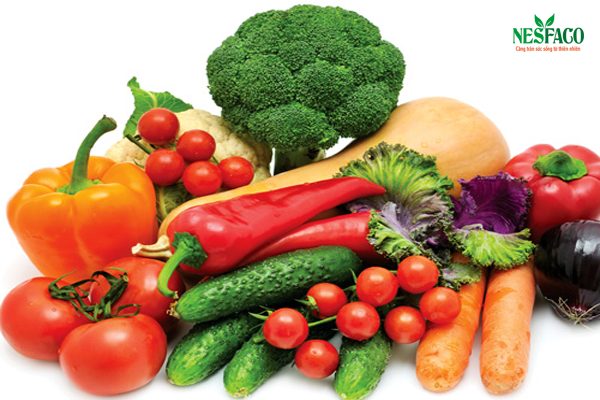 Điều trị huyết áp cao bằng rau củ